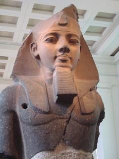 エジプトのラムセス2世の胸像.JPG