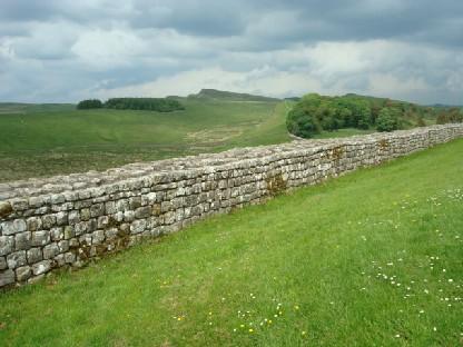 ローマ帝国時代の長城跡.JPG